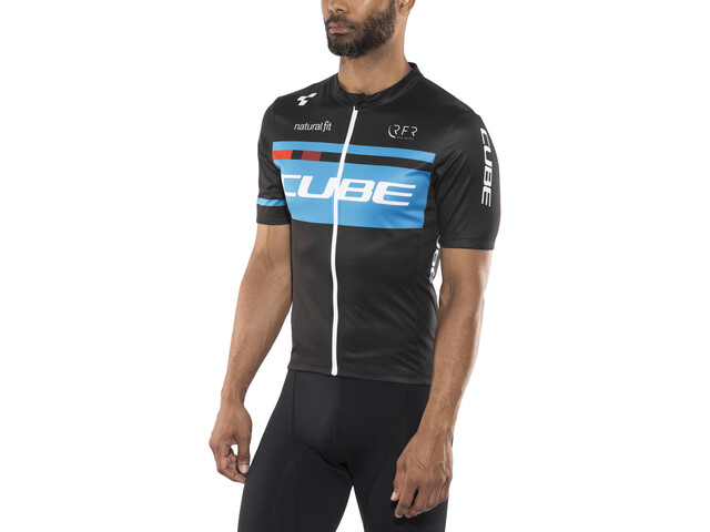 Cube Teamline Competition Maillot manga corta Hombre, black'n'blue